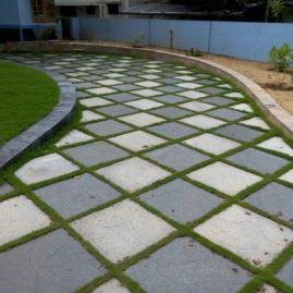 Shahbad Stone Paving sqft is Rs 120-